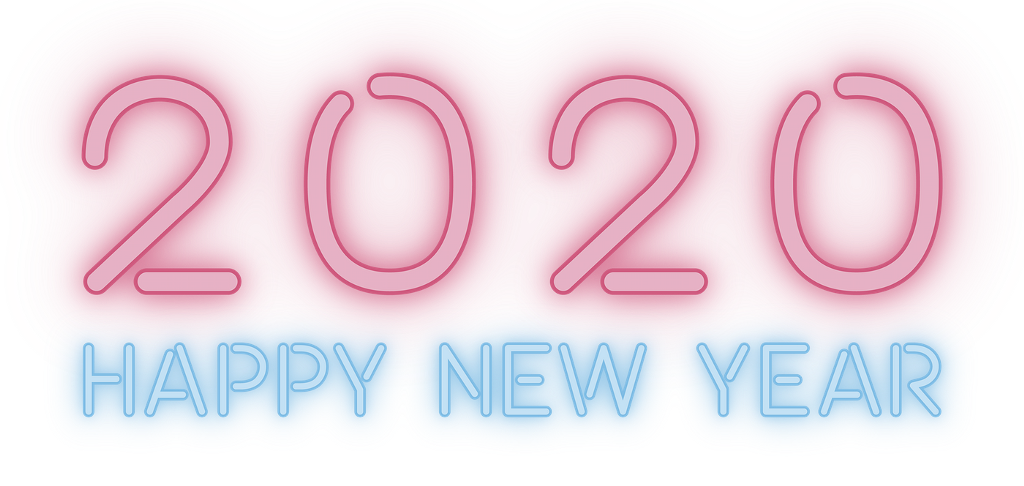 #2020 #happynewyear #neon #Luminous #Alphabet #colorful #blingbling #lighting #newyear