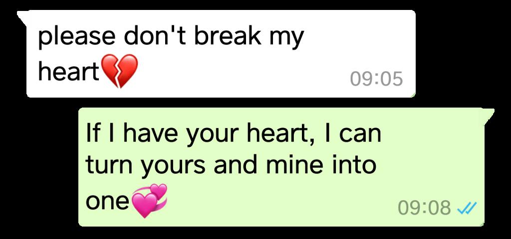 #pleasedontbreakmyheart
