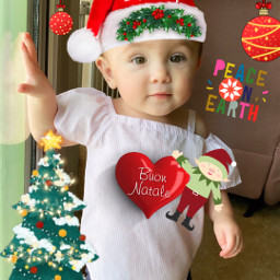 freetoedit granddaughter proudgrandma photoedit christmas fcholidaymood