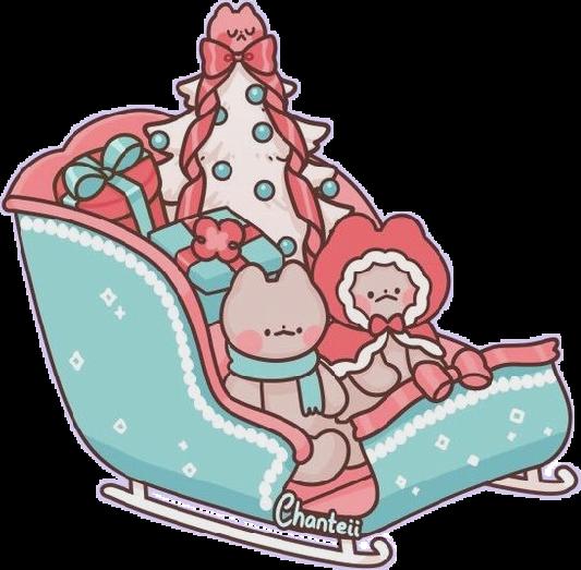 #kawaii #pastel #cat #christmas #cute