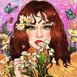 flower art girly freetoedit picsart