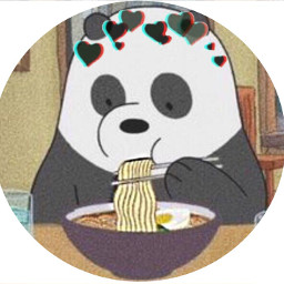freetoedit panda noodles ramen profilepic