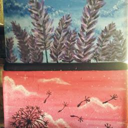 box brokenbox painting lavender mypaintings freetoedit