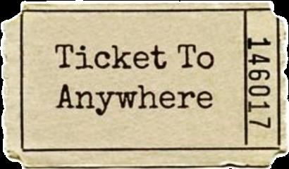 ticket softaesthetic aesthetic freetoedit