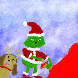 freetoedit grinch grinchmas xmas christmas dctrendysanta trendysanta
