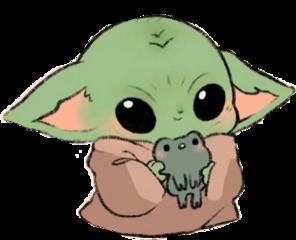 babyyoda starwars themandalorian freetoedit
