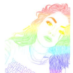 raimbow arcoiris🌈❤ tumblrgirl arcoiris