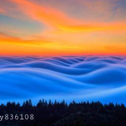 magic sky effects colours sunshine