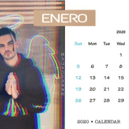 freetoedit enero calendarchallenge calendar2020 abrahamers srcjanuarycalendar