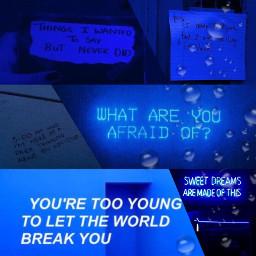 ccblueaesthetic blueaesthetic asthetic blue feelings freetoedit