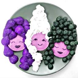 freetoedit plate food cooorized hueeffect