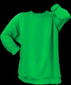 sweatshirt green clothes shirt fashion freetoedit