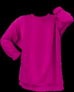sweatshirt magenta pink clothes shirt freetoedit
