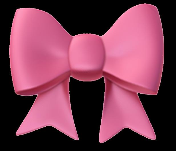 #bow #pink #png #emoji #emojis #emojiiphone #iphoneemojis #iphone #bowemoji