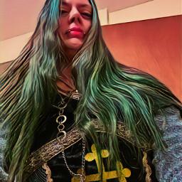 warrior fiercewomen viking magical