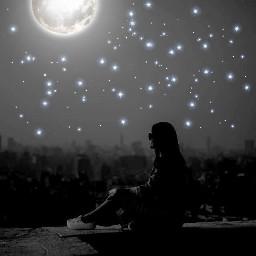 black moon stars
