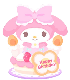 mymelody happybirthday birthdaycake cake freetoedit