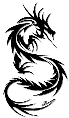 freetoedit dragon tattoo