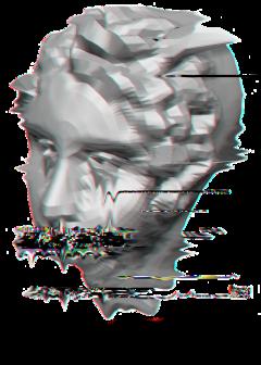 statue vhs 3d tumblr vaporwave freetoedit