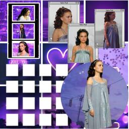 padme natalieportman starwars purple lavender freetoedit