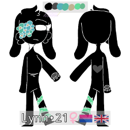 oc originalcharacter lynn 21 female