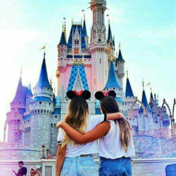 girl freetoedit bff disneyland tumblrgirls
