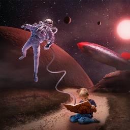 space imagination fantasy surreal surrealart
