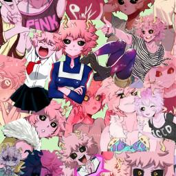 freetoedit minaashido bokunoheroacademia wallpapers