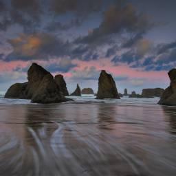 landscape nature sunset usa beach freetoedit