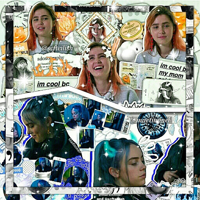 ~°•[ collab with @martinimel- ]•°~  [info] 💫↣edit type | collab/ complex ❄↣ celeb | billie eilish & clairo ✨↣ time taken | about a week 💌↣ follower count | 7,754 🐚↣ contests | none 💒↣ credits | credits to whoever made the overlays i used for the background 🍭↣ fonts | none  ---------♡---------  [extra] 🌹↣ random shoutout | @moon-liqht 📍↣ notes | this is a collab with @martinimel- , they did billie and i did clairo. it was great collabing with you!  ---------♡---------  [fan accounts] 🌷↣ ilyasm | @scfteilishfan @_billieslostavofan_ @_browslostavocado_ @_browsavocado_ @browslostavocado @browskermit  ---------♡---------  [other accounts] ☁↣ aesthetic | @turnoffthelights_ 🌸↣ backup | @scfteilish_backup 💎↣ memes ig | @monkeybrow  🎀↣ manipulation | @-myluciferislonely 🍁↣ pinterest | @scfteilish 🍒↣ discord | browjoe# 5627  ---------♡---------  [tags] 💘↣ comment '🎁' to be added | @clusterrhug @casual_sabotage @awhashley @bocafrappe @smol_argent @bocabear @bvrdvrlne @billiesavocadoishere @girlsguide @awhkylie @iisadxvibesii @coffeeqrops @-billiemybaby- @rqindrops- @stqr-wqrs @grandesmoonlight- @milliexsadie @butterflyswift @fancybutera @blvsheditss @awhmulti @bby-grande @lomlcottril @hopefulgrande @editingeilish @wdw_music @just_mee_ @pewdiepie_sunshine @brcathin @bqca @theyellowlight @strxngerbillie @billsbibbles  ---------♡---------  [hashtags] 🌻↣ #billieeilish #clairo #collab #complexedit #edit