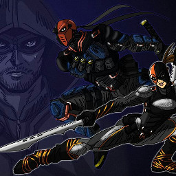 freetoedit arrow deathstroke ravager deathstroke5x23