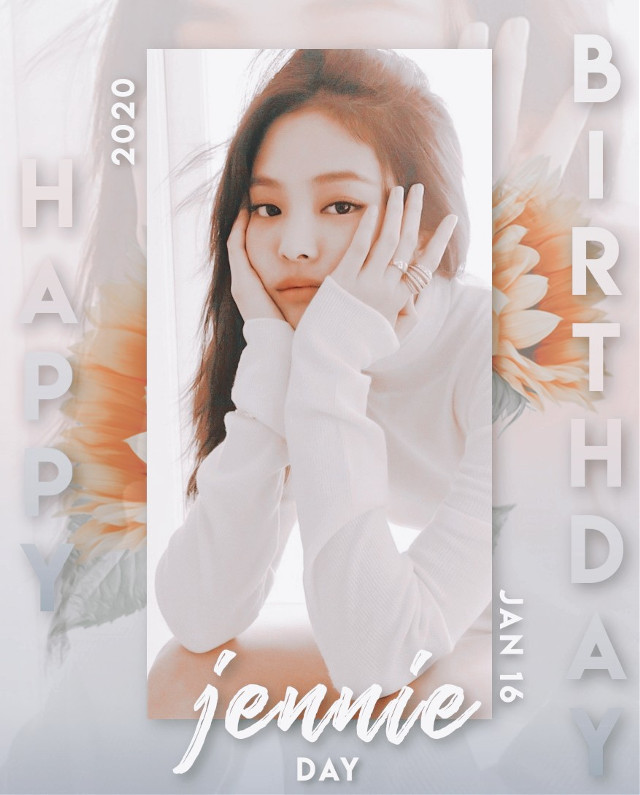 ⭐happy birthday jennie⭐  #jennie #blackpink #kimjennie #kpop #freetoedit