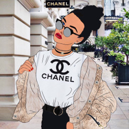 ircoutlineart outlineart freetoedit chanel dior
