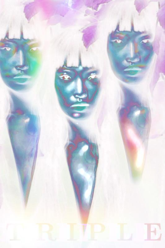 T R I P L E #interesting #clonetool #invert #rainbow #aesthetic #myedit #artistic #artisticedit #art #cool #beautiful @picsart