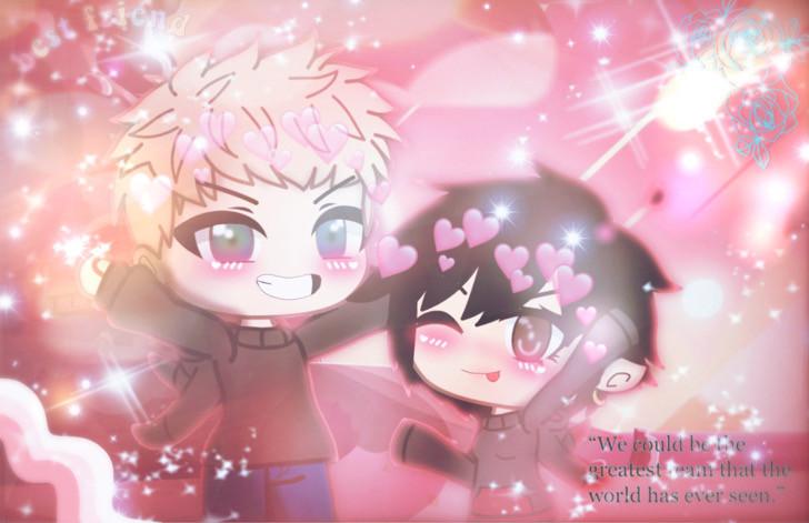 #freetoedit #gacha #bffs4ever #bff #gachalife #aesthetic #gachalifeedit #gachaedit #anime #animeedit #kawaii #happy
