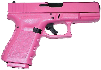 gun pink badass pistol girlpower freetoedit