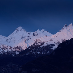 mountain nature snow background backgrounds freetoedit
