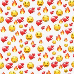 emoji yellow hearts emojibackround background