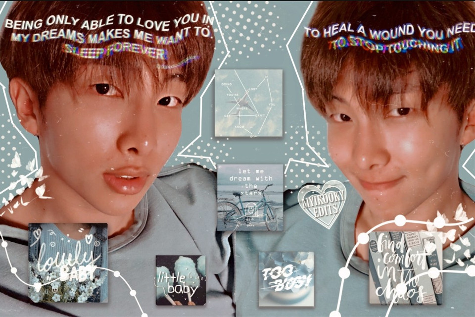 💙Hello choco chips💙 Here is a RM Hope u like it! Tell me what u think! I really like the stickers, in one joon looks friggin' hot & in one he looks so cute. eye- 🤧🤧  AHH TODAY IS MY BDAY .IM 14 FINALLY. AAAHHH IM SO HAPPY😭😭😭 ILYSM  Follower count: 4,177 (●__●)  Sticker credits: @aesthetic_loser    Taglist:0 @moonliqhtboba  @roses_in_spring  @multi-aj @aesthetic_cooky  @aesthetic_kpoper @yasmin-_-army @hottkookie @-chimmy @bby_kai  @_cheekychenle_  @bts____edits____  @delilah105  @its_ur_bby_girkookie  @jkhey-y  @badvibes_00  @kanna_edits  @btssofts @lutka04 @kookie_golden_maknae  @rainismmi @lazyllama6  @moonlightpasta  @1-800-felix  @maryanisso2006  @min_suga_d432  @bts_lover1 @impotatoo  @moonlighttaehyung  @_miyakura_  @taehyung_2430_tj2  @emptycandywrappers  @jikichoi @btskpopmyhearteu  @livelifebetter10  @bangtinifans  @twinkletaee   Comment '🌈' if u want to be added to taglist Comment '☠️' if u wanna be removed