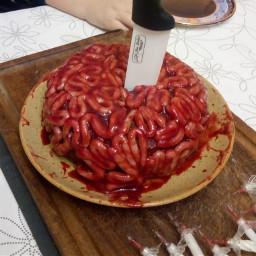 freetoedit blood cake birthday