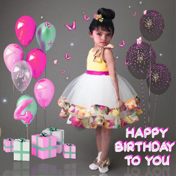 freetoedit happybirthday balloon ballons happybirthdaytoyou