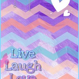 love livelaughlove purple blue freetoedit srczigzagpattern