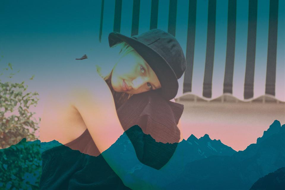 #gemini #alonebutnotlonely #mountain  #agirl #lovelygirl #softgirl @picsart