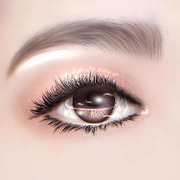 kpop eyes ibispaint eyesedit freetoedit