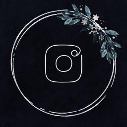 instagramlogo instagram фон черный