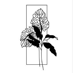 freetoedit minimalism minimalist plant drawing