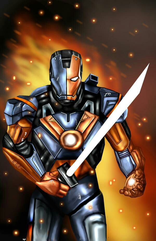 #freetoedit #IRONMAN #DEATHSTROKE #MANUBENNETT #ROBERTDOWNEYJR #TONYSTARK #SLADEWILSON IronStroke Mark7 #Terminator #Tony #Slade #MCU #Avengers #Arrow #2012 #2020