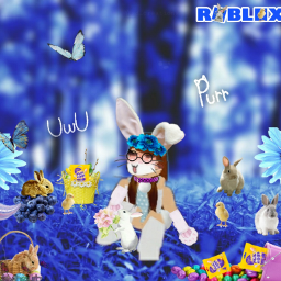 bunny purr uwu roblox easter