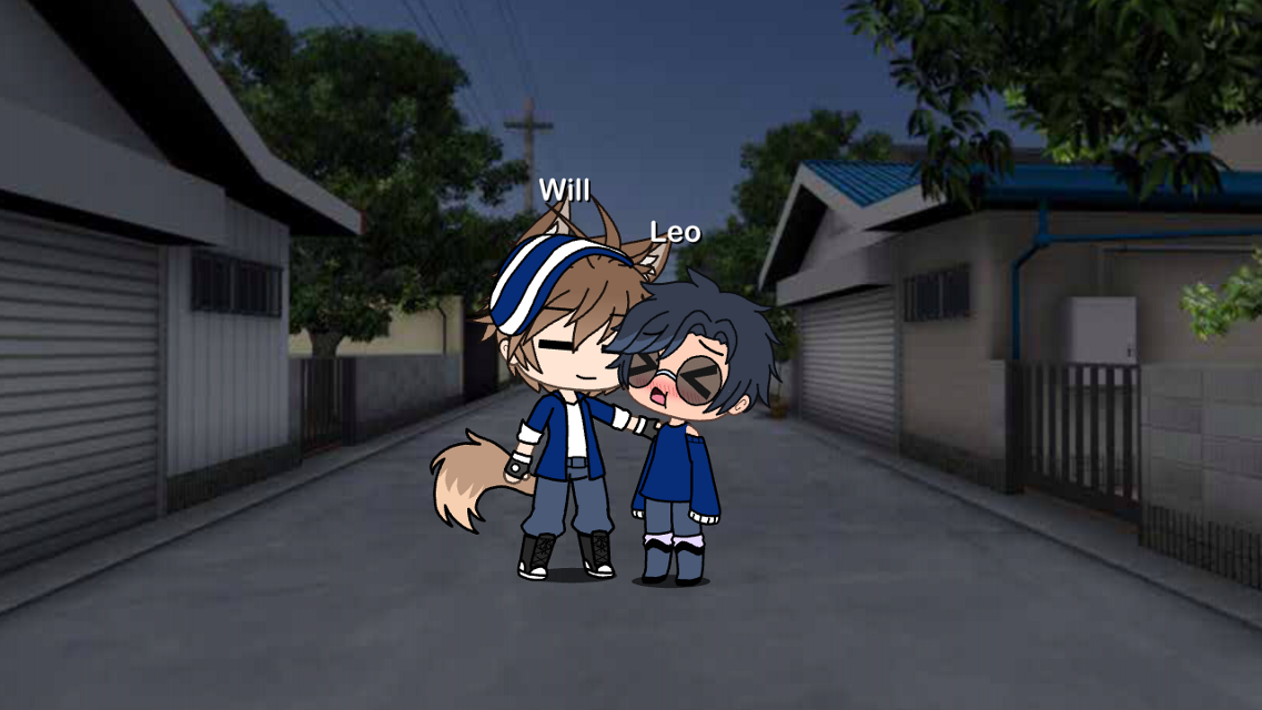 So is that yes to going out tomorrow?~Will  U-uh.. I guess~Leo  Good, cya aroind shortie *winks*~Will  *blushes* Don't go winking at me boy~Leo  So you want me to wink at another guy?~Will  Nooo you is mine!~Leo  Ok cya~Will  Byeee~Leo