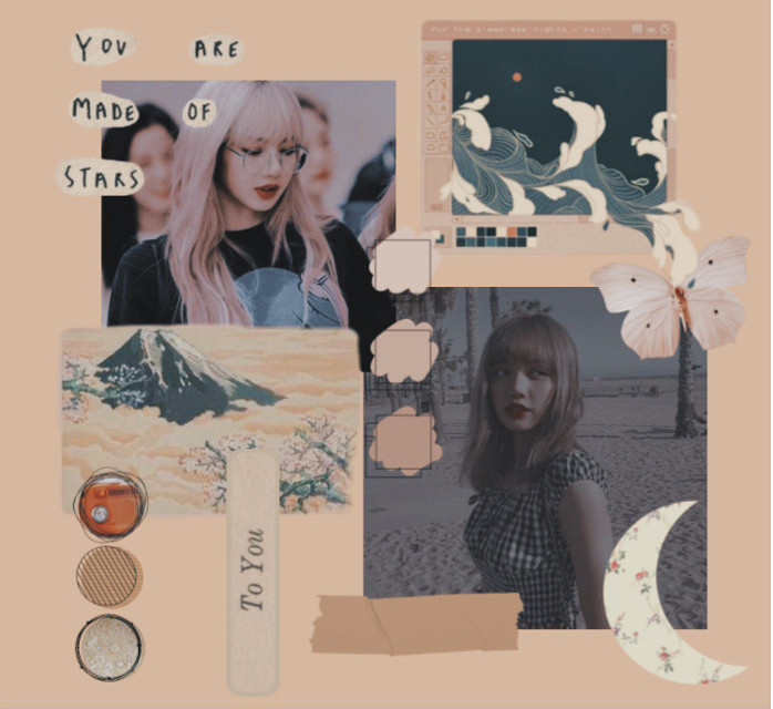 read me~💫   hellooo so i was lost at which idol to do next so who do you guys recomend? well yea thats it..  #lisa #manobanlalisa #beige #blackpink #blackpinklisa #freetoedit #aesthetic